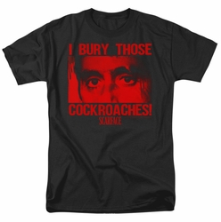 Scarface t-shirt Cockroaches mens Black