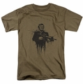 Scarface t-shirt Grimace mens safari green