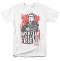 Scarface t-shirt Little Friend mens white