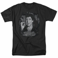 Scarface t-shirt Smokey Scar mens black