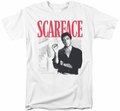 Scarface t-shirt Stairway mens white
