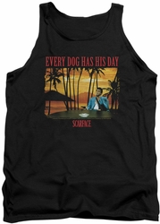 Scarface tank top A Dog Day mens black