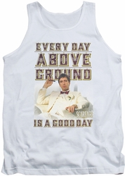 Scarface tank top Above Ground mens white