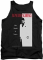 Scarface tank top Classic mens black