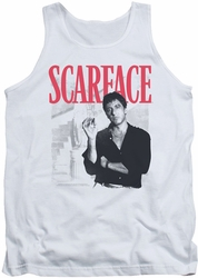 Scarface tank top Stairway mens white