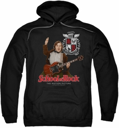 School Of Rock pull-over hoodie The Teacher Is In adult black
