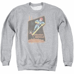 Scorpion adult crewneck sweatshirt Proton Arnold Poster athletic heather