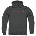 Scorpion pull-over hoodie Logo adult charcoal