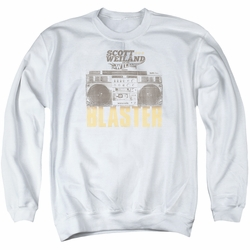 Scott Weiland adult crewneck sweatshirt Blaster white