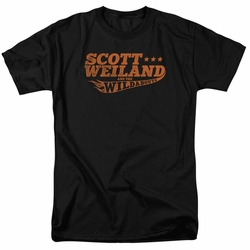 Scott Weiland t-shirt Logo mens black