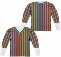 Sesame Street adult long-sleeved full sublimation shirt Bert Costume white