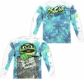 Sesame Street adult long-sleeved full sublimation shirt Can It white