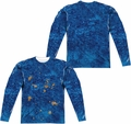 Sesame Street adult long-sleeved full sublimation shirt Cookie Moster Costume white