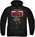 Sgt Rock pull-over hoodie DC Comics adult black