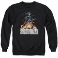 Shadowman adult crewneck sweatshirt Shadow Victory black