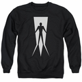 Shadowman adult crewneck sweatshirt Vintage Shadowman black