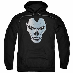 Shadowman pull-over hoodie Comic Face adult black