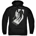 Shadowman pull-over hoodie Grim Shadow adult black