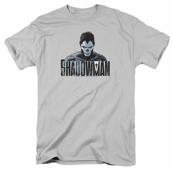 Shadowman t-shirt Shadow Stare mens silver