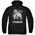 Shaun of The Dead pull-over hoodie Hero Must Rise adult black