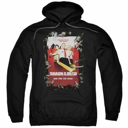 Shaun of The Dead pull-over hoodie Poster adult black