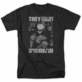 Shaun Of The Dead t-shirt Still Out There mens black