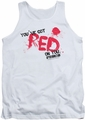 Shaun Of The Dead tank top Red On You mens white