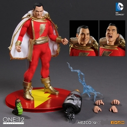 Shazam 1:12 Collective Action Figure pre-order