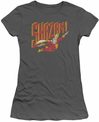 Shazam! juniors t-shirt Retro Marvel charcoal
