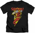 Shazam kids t-shirt In Bolt black