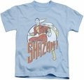 Shazam kids t-shirt Stepping Out light blue