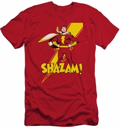 Shazam slim-fit t-shirt Proud mens red