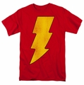 Shazam t-shirt Logo Distressed mens