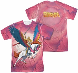 She Ra mens full sublimation t-shirt Sky Power