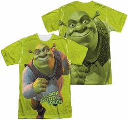 Shrek mens full sublimation t-shirt Trio
