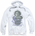 Shrek pull-over hoodie Lifes Questions adult white