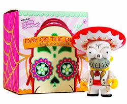 Simpsons Homer Day of the Dead Mariachi 6-inch Viny Figure