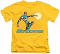 Sinestro kids t-shirt DC Comics yellow