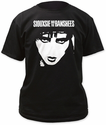 Siouxsie & The Banshees Face Adult t-shirt Preorder