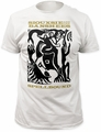 Siouxsie & the Banshees spellbound fitted jersey tee mens white pre-order
