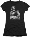 Six Million Dollar Man juniors t-shirt Bionic Buddies black