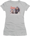 Six Million Dollar Man juniors t-shirt The First silver
