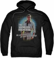 Six Million Dollar Man pull-over hoodie Technology adult black