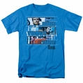 Six Million Dollar Man t-shirt Better Stronger Faster mens turquoise