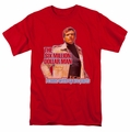 Six Million Dollar Man t-shirt Spare Parts mens red