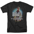 Six Million Dollar Man t-shirt Technology mens black