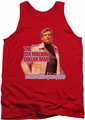 Six Million Dollar Man tank top Spare Parts mens red