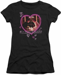 Sixteen Candles juniors t-shirt Candles black