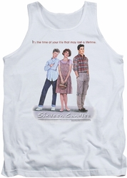 Sixteen Candles tank top Poster mens white