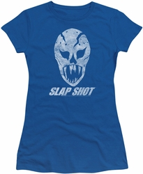 Slap Shot juniors t-shirt The Mask royal blue